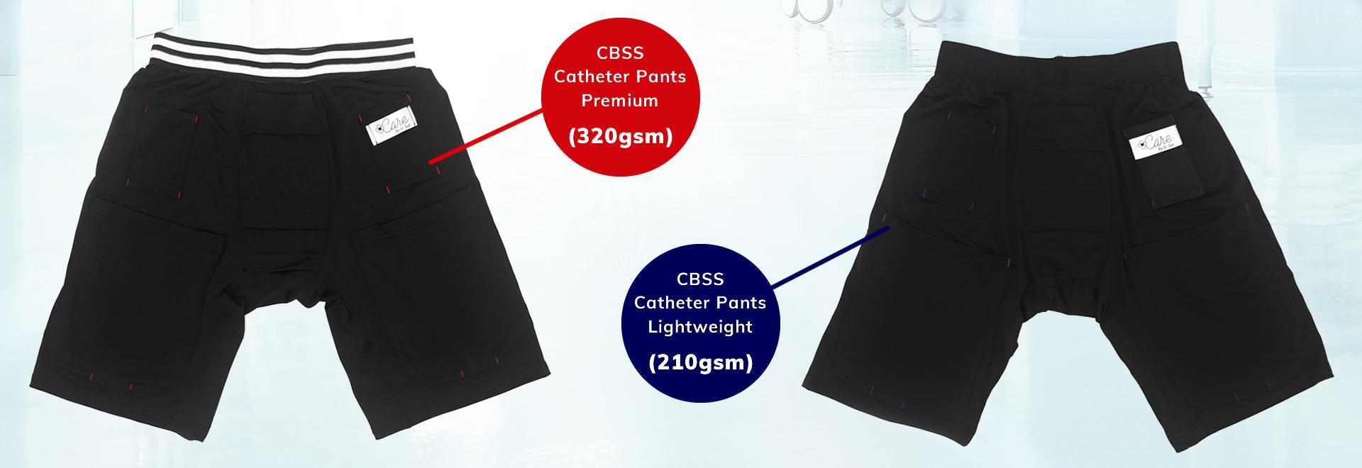cbss catheter pants range